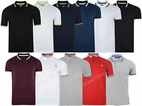 New Mens UCNY Threadbare Brave Soul  Tipped Pique Polo  Shirt Top
