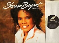 SHARON BRYANT here i am 837 313-1 german wing 1989 LP PS EX/EX