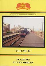 B&R No 19 Dvd: Steam on Cambrian: Corris Railway Whitchurch Aberystwyth Pwllheli