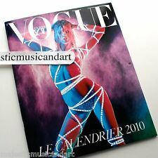MARIO SORRENTI EMMANAUELLE ALT 2010 VOGUE PARIS CALENDAR MINT FRANCE PIRELLI