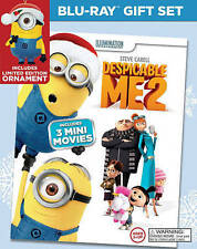 Despicable Me 2: 3 Mini-Movie Collection (Blu-ray Disc, 2014, 2-Disc Set)