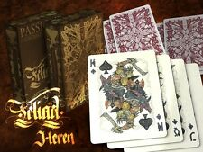 Teliad Heren Deck Playing Cards Poker Size LPCC Passione Custom Limited Sealed