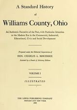 1920 WILLIAMS County Ohio OH, History and Genealogy Ancestry Family Tree DVD B14
