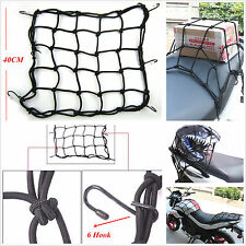 Motorcycle Luggage Rack Tank Fixed Sundries Helmet Storage Resilient 6 Hook Net