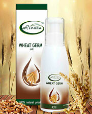 Wheat Germ 100% Pure Oil Lips/Hair Care Anti Scars/Stretch Marks 100ml Rivana