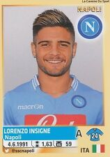 N°412 LORENZO INSIGNE # SSC.NAPOLI ITALIA CALCIATORI 2014 PANINI STICKER