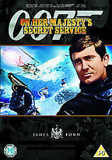 ON HER MAJESTY'S SECRET SERVICE DVD JAMES BOND 007 REMASTERED EDITION New UK