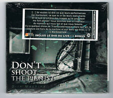 DON'T SHOOT THE PIANIST - D-IN MACHINA - CD 8 TRACKS + DVD - 2011 - NEUF NEW NEU