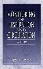 Monitoring of Respiration and Circulation by J. A. Blom (2003, Hardcover)