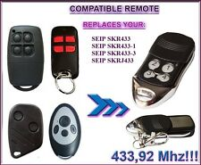 Seip SKR replacement remote for RP60A, TM50, TM60, TM80, TS75, TS100 openers