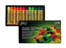 Ölpastellkreiden Ölpastell fluorescent 12 Farben Mungyo Artist's Oil Pastels