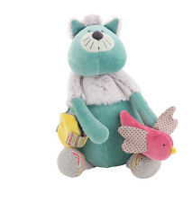 Moulin Roty Les Pachats Soft Toy Chacha Activity Cat from Wyestyles