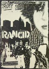 Poster RANCID - Ruby - Soho NEU 13803