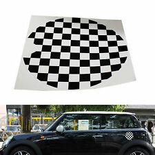 Black White Vinyl Gas Cap Sticker Decal For Mini Cooper Gas Cap Cover