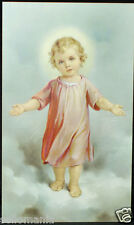 OLD BLESSED CHILD JESUS HOLY CARD ANDACHTSBILD SANTINI  SEE MY SHOP C679