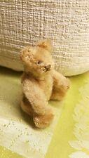 Alter Steiff Teddy Bär Rarität 10 cm selten von ca.  1930 Vorkrieg
