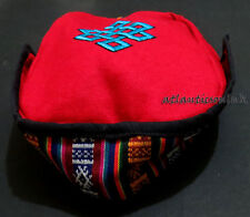 C37 Knot embroidery Fashion Himalayan Cotton Sherpa Round Cap Nepal Tibet