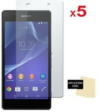 NEW PACK OF 5 SCREEN PROTECTOR FILM GUARD INVISIBLE GUARD FOR SONY XPERIA Z2