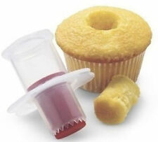 Cupcake Muffin Cake Corer Plunger Cutter Pastry Fruit Fill Decorating Kitchen