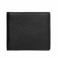 Smythson Panama 6CC Black Calf Leather Wallet - Brand New & Boxed