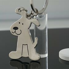 Fashion Creative Model Dog Keychain Popular Versatile Metal Key Ring Key Chain
