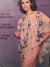 NEW VINTAGE 1970s 'BUTTERICK'   CAPELET SEWING PATTERN 5399 ONE SIZE