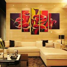 Large Trumpet Flower Canvas Print Wall Art Painting Picture NO frame 3 Size
