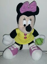 MINNIE BASEBALL DISNEY PELUCHE Gadget Mascotte Plush Pubblicita Advertising