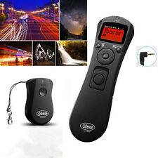 Wireless Timer Remote Control for Canon EOS 70D 60D 700D 600D 550D 1100D 1200D