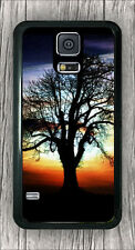 TREE OF LIFE AT SUNSET #9 CASE COVER FOR SAMSUNG GALAXY S5 -b4t5