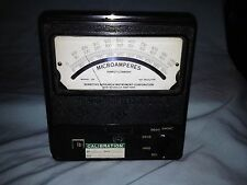 1950's Sensitive Research Instrument Corp, Direct Current Microammeter, Untested