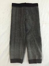 Zara Terez Leggings Sweatpants Frosty Black/Gray Size 0/S NWT!