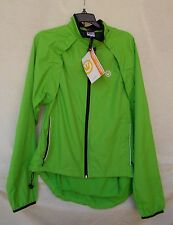 New Men's Canari Optimo Cycling Jacket Style 1770 Ecto Green Size Large