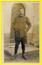 cpa DILLINGEN en 1917 Carte Photo PRISONNIER de GUERRE SOLDAT Maxime BOUGRIER