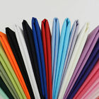 100% COTTON - PLAIN COLORS Fabric from India Material Sewing Craft 30 Color Yard