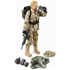 World Peacekeepers 12in Poseable Army Action Figure SAS  3+Yrs