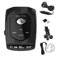 New Snooper 4Zero GPS Radar Laser Speed Camera Detector Speed Cam Alert Safety
