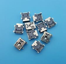 10Pcs Mini Usb Type B 5Pin Female Socket SMT Soldering Jacks Connectors