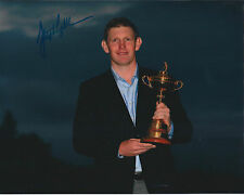 Stephen GALLACHER SIGNED Autograph 10x8 Photo AFTAL COA 2014 Ryder Cup WINNER