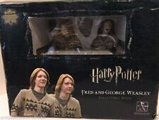 HARRY POTTER GENTLE GIANT COLLECTIBLE BUST STATUE NIB BOX FRED GEORGE WEASLEY