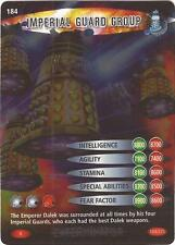 "Doctor Who Battles In Time Exterminator - Rare ""Imperial Guard Group"" Card #184"