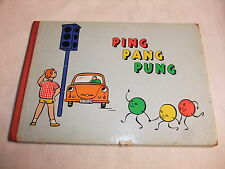 ALT RDA libro infantil imágenes libro ping Pang pung SUSE Kunath Marianne strobach 1963