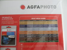 Agfa photo papel DIN a4 50 hoja Sheet/210g glossy Paper ap21050a4 brillante
