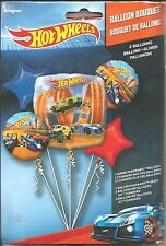 Hot Wheels Birthday Party Balloon Bouquet 5 Pieces