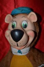 Vintage Hanna-Barbera Rubber Face Yogi Bear Plush 17.5 inches tall
