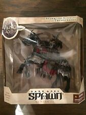 McFarlane Spawn The Dark Ages Bloodaxe and Thunderhoof Viking Age with horse