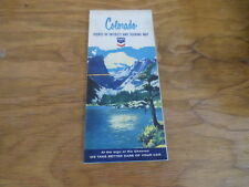 1965 Touring and Points of Interest Map of Colorado Free Domestic Shipping
