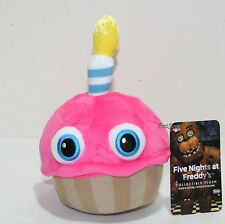 """6"""" Cupcake with Candle Eyes Five Nights At Freddy's Plush Toy Funko Series 2 NEW"""