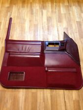 86-93 GMC SONOMA CHEVY S-10 SYCLONE BLAZER JIMMY OEM DRIVER DOOR PANEL RED NICE!