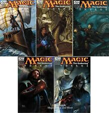 Magic the Gathering THEROS Comic Issue #1 2 3 4 5  IDW 1st print SET Lot
